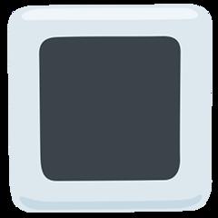 White Square Button facebook messenger emoji