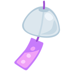 Wind Chime facebook messenger emoji