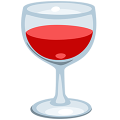 Wine Glass facebook messenger emoji