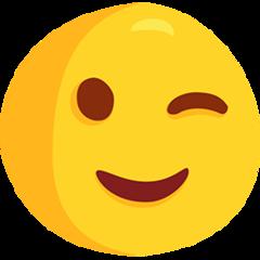 Winking Face facebook messenger emoji