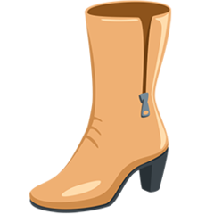 Womans Boots facebook messenger emoji