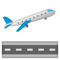 Airplane Departure google emoji