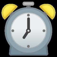 Alarm Clock google emoji