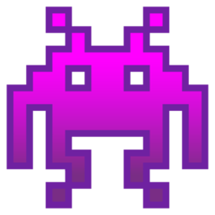 Alien Monster google emoji