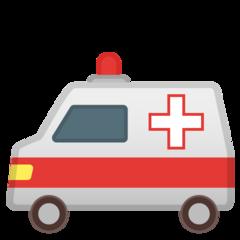 Ambulance google emoji