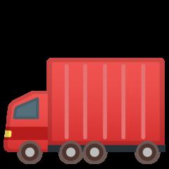 Articulated Lorry google emoji