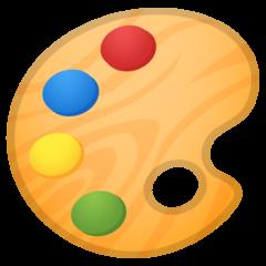Artist Palette google emoji