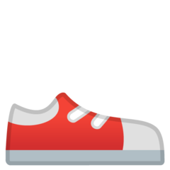 Athletic Shoe google emoji