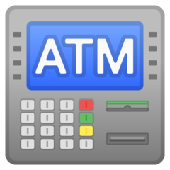 Automated Teller Machine google emoji