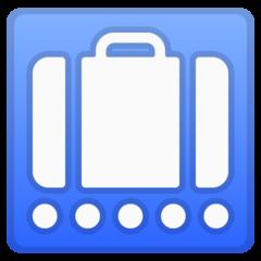 Baggage Claim google emoji