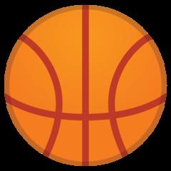 Basketball And Hoop google emoji