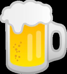 Beer Mug google emoji