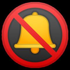 Bell With Cancellation Stroke google emoji