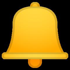 Bell google emoji