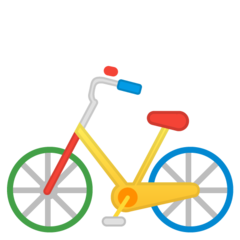 Bicycle google emoji