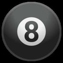 Billiards google emoji