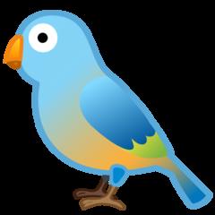 Bird google emoji
