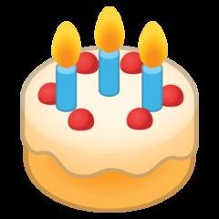 Birthday Cake google emoji