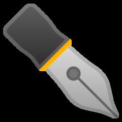 Black Nib google emoji