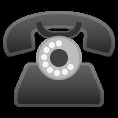 Black Telephone google emoji
