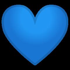 Blue Heart google emoji