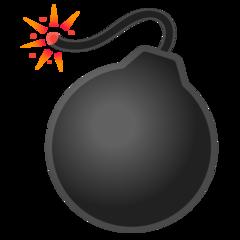 Bomb google emoji