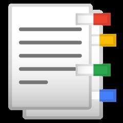 Bookmark Tabs google emoji