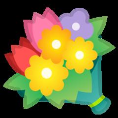 Bouquet google emoji