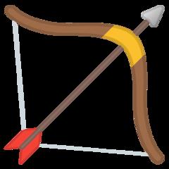 Bow And Arrow google emoji