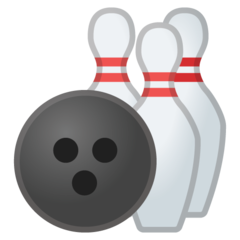 Bowling google emoji