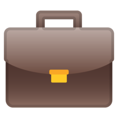 Briefcase google emoji