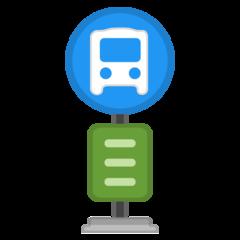 Bus Stop google emoji