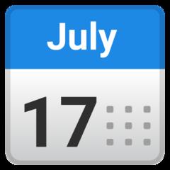 Calendar google emoji