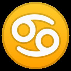 Cancer google emoji