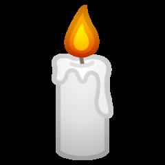 Candle google emoji