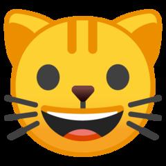 Cat Face google emoji
