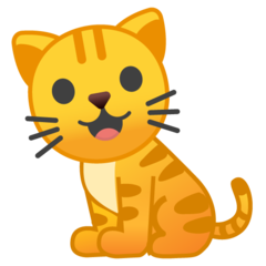 Cat google emoji