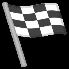 Chequered Flag google emoji