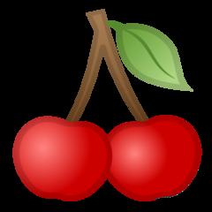 Cherries google emoji