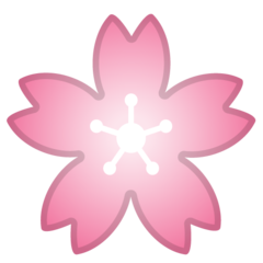 Cherry Blossom google emoji