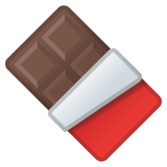 Chocolate Bar google emoji