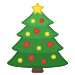 Christmas Tree google emoji