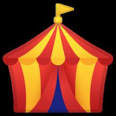 Circus Tent google emoji