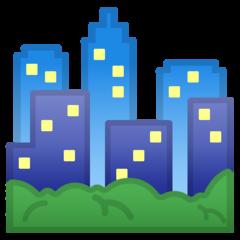 Cityscape google emoji