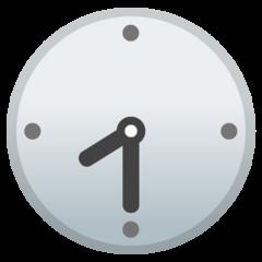 Clock Face Eight-thirty google emoji