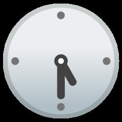 Clock Face Five-thirty google emoji