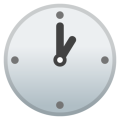 Clock Face One Oclock google emoji