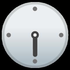 Clock Face Six-thirty google emoji