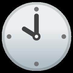 Clock Face Ten Oclock google emoji