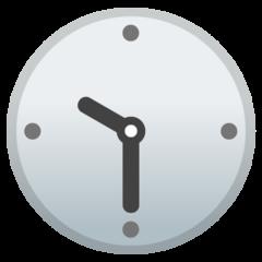 Clock Face Ten-thirty google emoji